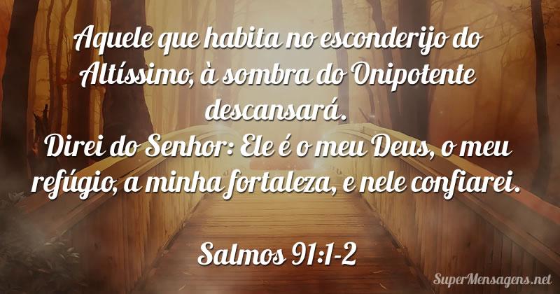 Mensagem Bíblica Salmo 91