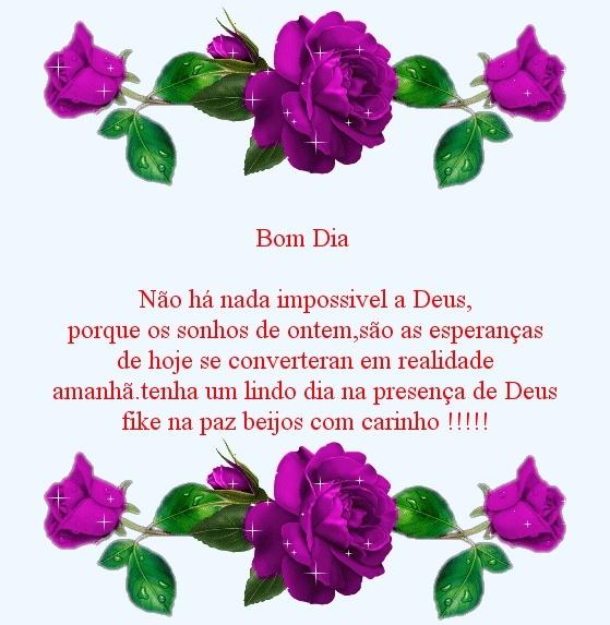 Tag Frases De Bom Dia Para Amigos De Deus